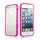 HOT PINK Top Grade Hard MATTE PC & Soft GEL Cases Cover For Apple iPhone 5 5S