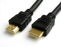 1M HDMI TO HDMI  GOLD CABLE 1080p Video FOR HDTV SKY HD PS3 XBOX