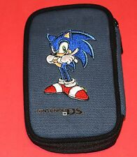 UNRELEASED - SONIC THE HEDGEHOG Travel Case (Nintendo DS Lite) BRAND NEW blue