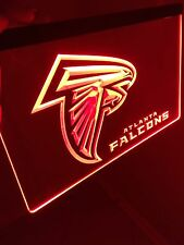NFL Atlanta FALCONS LED Neon Sign for Game Room,Office,Bar,Man Cave, Decor