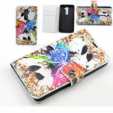 Stand Flip Book Style Wallet Leather Phone Cover Case Accessories For LG G2 D802
