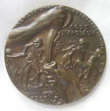 "Karl Goetz,  ""Code Napoleon"" Satirical Medal, 1920"