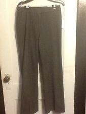 NWT Calvin Klein Wool Blend Classic Fit Dress Pants Women Size 6x33 664740