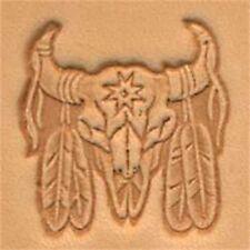 Cráneo indio 3d herramienta de Estampado Cuero-Craf sello impresión Tandy 88436-00