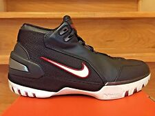 OG 2004 Nike Air Zoom Generation 1 LeBron Black/White/Crimson Size 10.5 Shoes