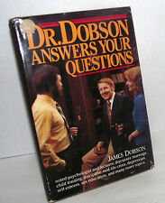 Dr Dobson Answers Questions Christian Children Psychology Marriage Autographed