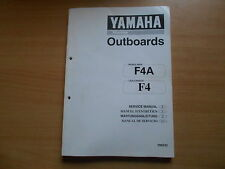 Workshop manual Yamaha Outboard engine 4 PS manuel d`maintenance service manual