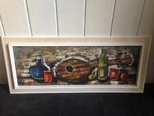 Gemälde Öl auf Leinwand sig. Bonnard 50er Jahre Stillleben Stil Life 50s Modern