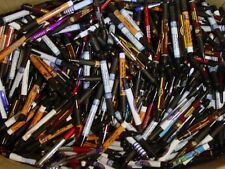 Misprint Pens Nice writing! Clip On SOFT GRIP Retractable BULK A LOT of 50