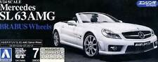 Aoshima Mercedes Benz SL 63 AMG Brabus Engine 1:24 model kit NIP RARE