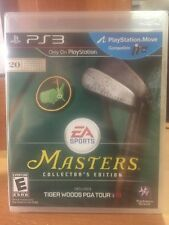 New!!! Tiger Woods PGA Tour 13 Masters Collector's Ed (Sony PS3, 2012) Sealed!!!