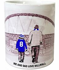 Millwall Mug Football shirt Fathers Day Xmas New Gift