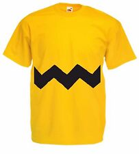 CHARLIE BROWN SNOOPY Kid's TV cartoon charactor 100% cotton crew neck T Shirt.