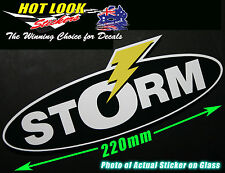 STORM LURES Bait Reel Rod Sticker bomb Decal for Fishing boat  tackle Box