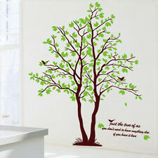 Nature Wall Sticker Decal Mural Removeable Trees Wall Home Sticker Vinyl Decor /