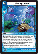 Kaijudo X3 CYBER CYCLONES Uncommon #18/110 7CLA (Playset) Clash of Duel Masters