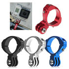 Bike Bicycle Aluminum Handlebar Bar Clamp Mount for Gopro Hero 3+ 3 2 1 Camera