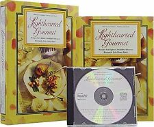Lighthearted Gourmet Cook Book,Recipes for Healthy Meals,Boxed Set with Music CD
