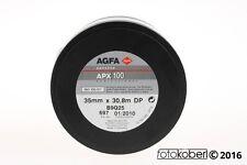 AGFA  APX 100 Meterware 35mm x 30,8m für Schwarzweiss Ablauf 01/2010