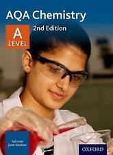 AQA Chemistry A Level Student Book by Ted Lister and Janet Renshaw