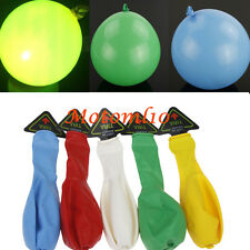 5PCs Led Flashing Hellium Ballons Christmas Birthday Wedding Decoration Light MO