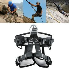 New Sit Harness Pro Rescue Climbing Caving Belt Outdoor Protective Sitting Belt