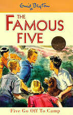 NEW   HARDBACK  (7)  FIVE GO OFF TO CAMP ( FAMOUS FIVE book ) Enid Blyton