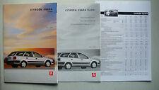 Prospekt Citroen Xsara Kombi, 4.1998, 28 Seiten + Daten/Ausstattung + Preise