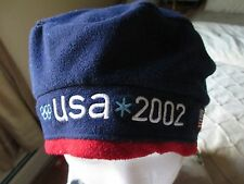 Roots USA 2002 Olympic hat