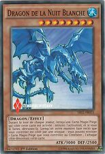 ♦Yu-Gi-Oh!♦ Dragon de la Nuit Blanche (White Night) : SR02-FR011 -VF/COMMUNE-