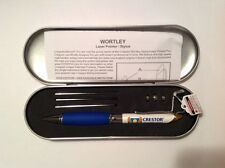 Crestor Stylus / Laser Pointer / Pen - Wortley -Extra batteries / Extra refills