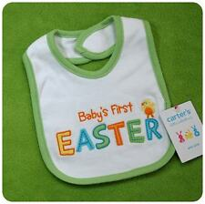 New NWT CARTERS BABY'S 1ST FIRST EASTER BIB CHICK~BOYS& GIRLS~NEWBORN+ UP TWINS?