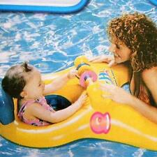 Safe Soft Baby Inflatable Swim Mother Float Kids Chair Raft Seat Double Person
