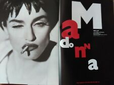 CLIPPING MADONNA BY HERB RITTS  FROM JAPAN  INMACULATE COLLECTION BIG SIZE