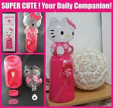 NEW Cute Hello Kitty Pink Mini Desktop Water Beverage Dispenser 2.5L 8 Glasses