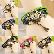 Combo Offer (Pack of 3) Vintage Collection Bracelet Women Wrist Watch Leater