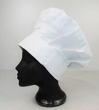 Alexandra Unisex White 100% Cotton Chef Hat Baker Pastry Cook Fancy Dress CR 42