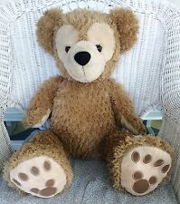 "Huge 30"" Hidden Mickey Duffy the Disney Bear Caramel Looking for a Loving Home"