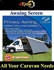 CGEAR Privacy Awning Drop 6ft Width 9ft Grey-CGE1809F-Camping Caravans Motorhome