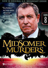 Midsomer Murders Series 8 Reissue, Excellent DVD, John Nettles, Richard Holthous