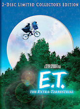 E.T. The Extra-Terrestrial (2-Disc DVD Set,  Limited Collector's Edition) New