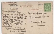 Miss Greenyer, Sackville Road, Brighton Postcard, B275