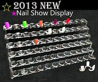 72 Tipringe + Präsentations Ständer Nail Art Tips Display Tip **NEUHEIT 2013**