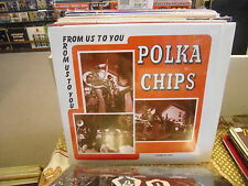 Polka Chips From Us To You vinyl LP private press Sealed Cedar Falls Iowa Band