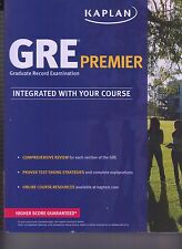 GRE Premier Integrated With Your Course Edition Book 2014 NEW (E1-47)