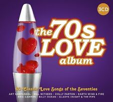Various - 70s Love Album (2017)  3CD  NEW/SEALED  SPEEDYPOST