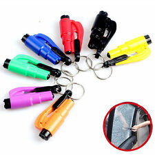 HOT Safety Keychain Car Emergency Rescue Glass Breaker Hammer Escape Tool New UR