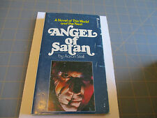 ANGEL OF SATAN BY AARON STELL  (1974)  VINTAGE PINNACLE HORROR PAPERBACK