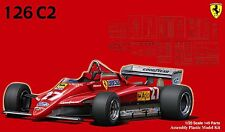 Fujimi GP02 1/20 F1 Ferrari 126C2 1982 (091945) from Japan