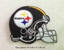 Patch Pittsburgh Steelers Helmet Embroidered Sew Iron on Patch NFL Football Logo